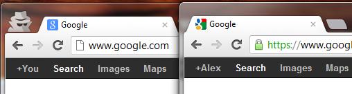 Новый и старый фавиконы Google