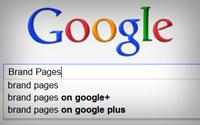 Брендовые страницы Google+ уже в SERP
